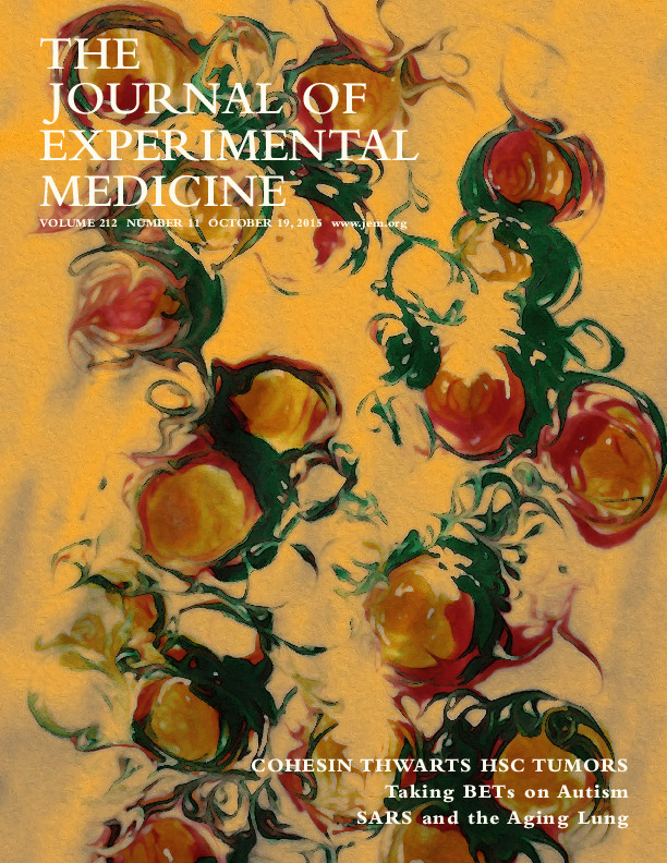 Journal of Experimental Medicine  (October 5th 2015)